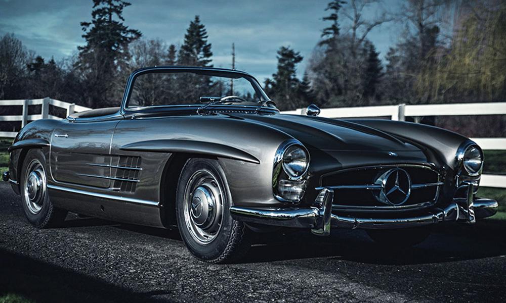 Auction-Block-1958-Mercedes-Benz-300-SL-Roadster-0