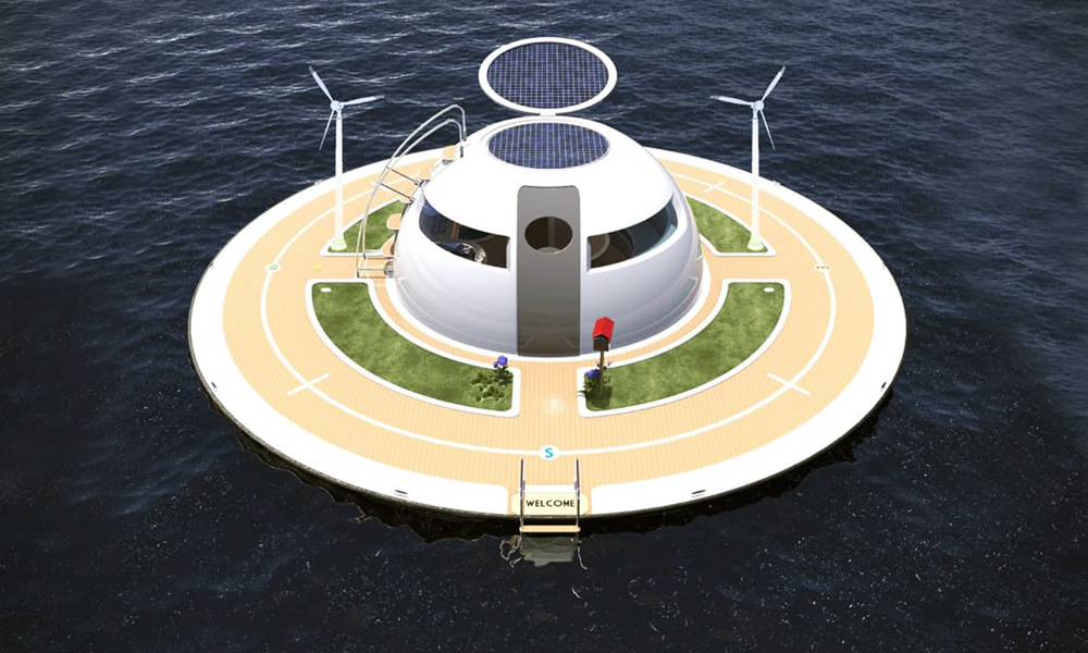 UFO-Floating-Home-by-Jet-Capsule-